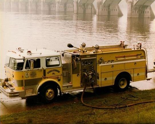West Shore Bureau of Fire » History
