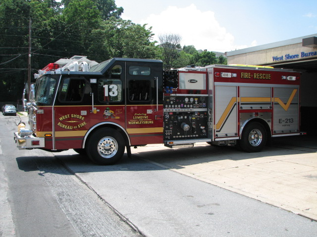 Engine 213-Driver Side
