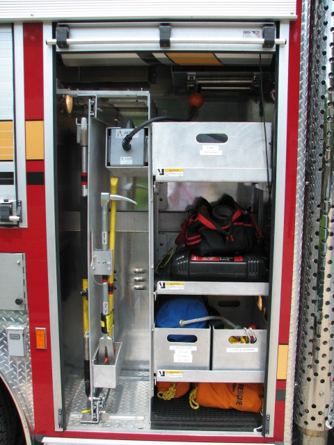 Engine 213-Officer Side Front Compartment