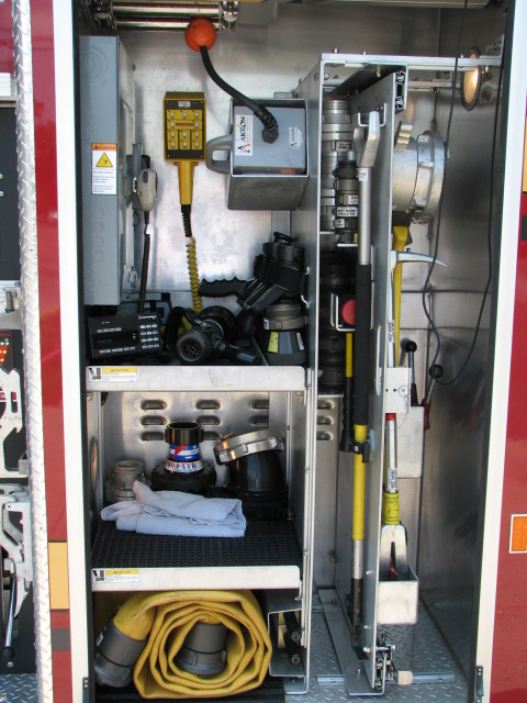 Engine 213-Driver Side Front Compartment