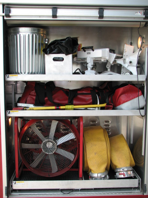 Engine 213-Driver Side Rear Compartment