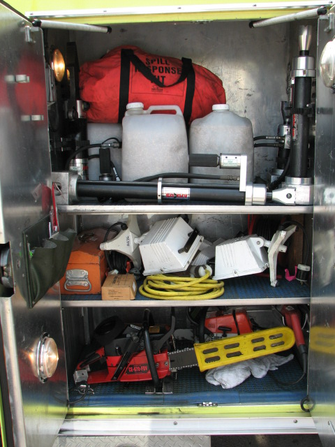 Engine 313-Driver Side Rear Compartment